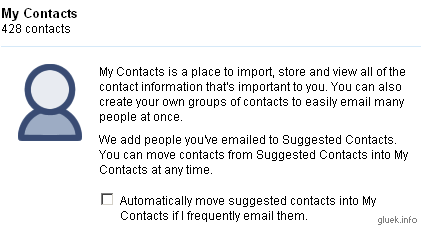 Gmail Contact Manager